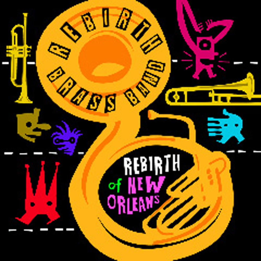 Rebirth Brass Band Opening for Red Hot Chili Peppers