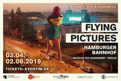 "Neue Show: ""Flying Pictures"" im Hamburger Bahnhof"
