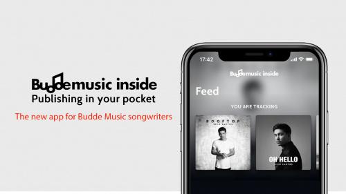 The Buddemusic inside app: Publishing in your pocket