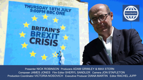 James Jones Scores BBC Panorama Brexit Special