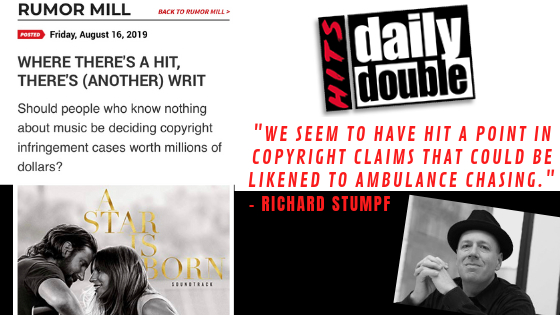 Hits Daily Double: Atlas CEO, Rich Stumpf, Speaks Out On Recent Copyright Infringement Cases