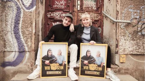 "Gold Award for ""Immer wenn wir uns sehn"""