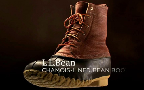 L.L.Bean: The Chamois-Lined Bean Boot