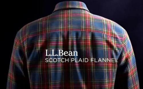 L.L.Bean: The Scotch Plaid Flannel