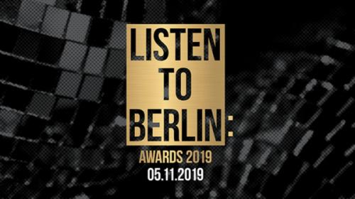 LISTEN TO BERLIN: AWARDS - Nominees 2019