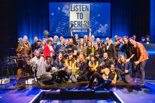 Winners of the LISTEN TO BERLIN: AWARDS 2019