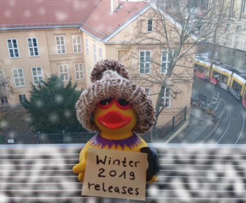 Winter 2019 releases