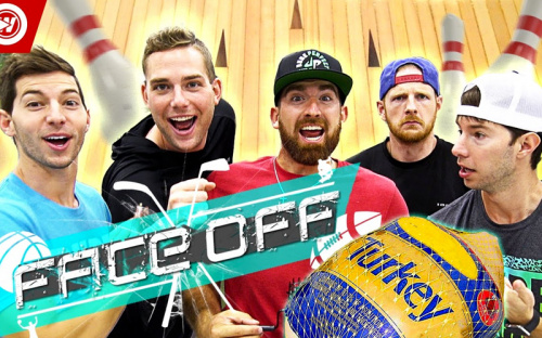 All Sports Bowling Battle | Dude Perfect