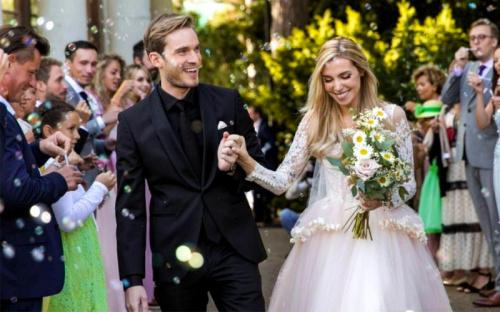 PewDiePie and Marzia Wedding (YouTube)