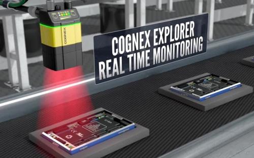 Cognex Explorer- Real Time Monitoring