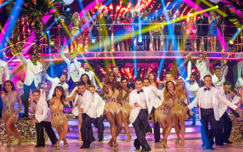 BBC Strictly Come Dancing Kate Silverton Aljaz Skorjanec