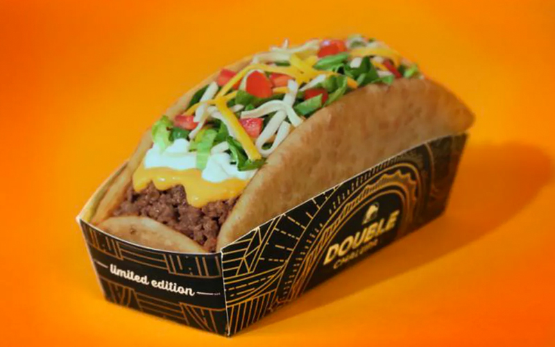 Taco Bell: Double Chalupa