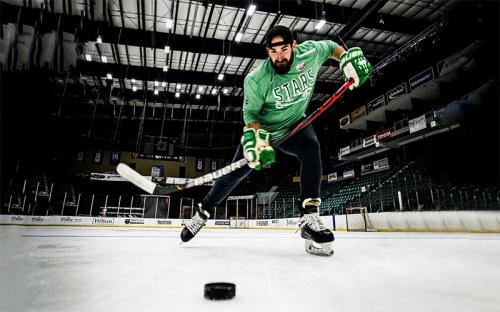 Hockey Trick Shots | Dude Perfect