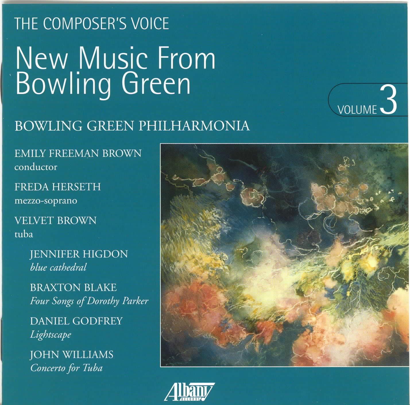 New Music From Bowling Green, Vol. 3 -  Higdon, J. - Blake, B. - Godfrey, D. - Williams, J.