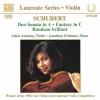 Duo Sonata in A Major, Op. 162, D. 574: III. Andantino