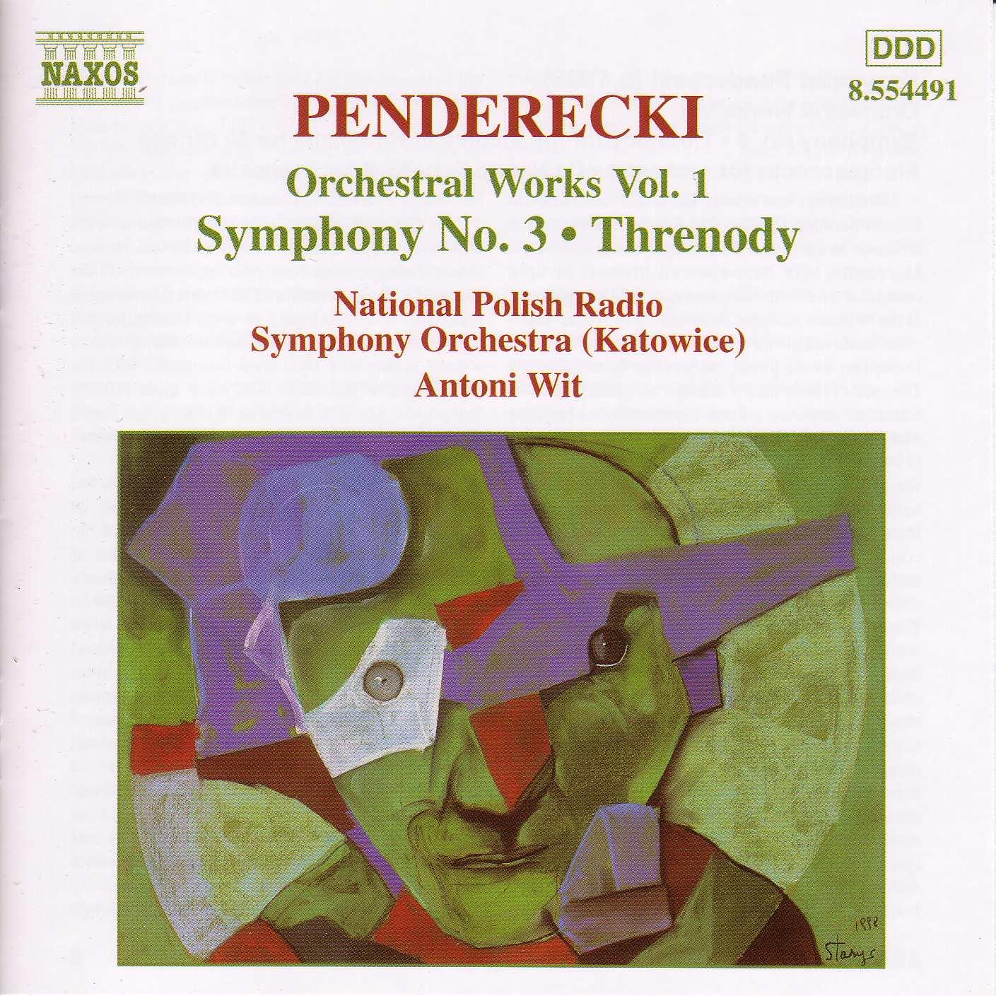 Penderecki: Symphony No. 3 - Threnody