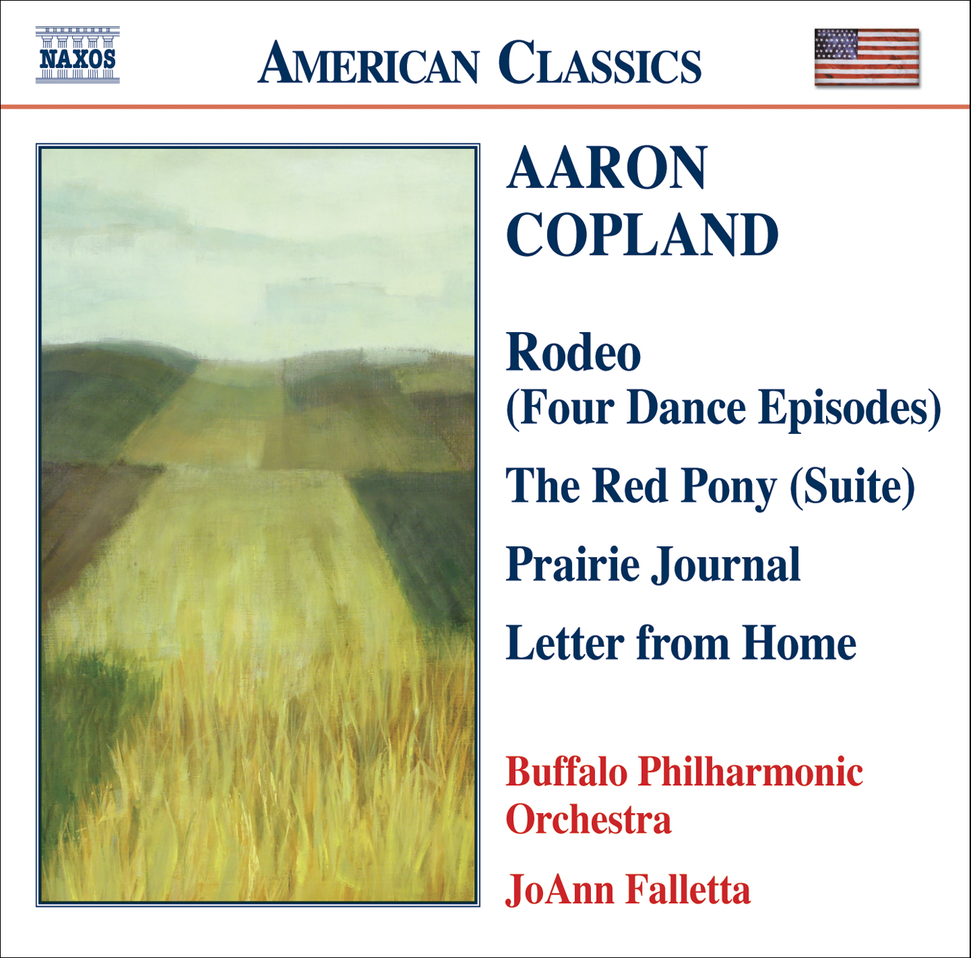 COPLAND: Prairie Journal - The Red Pony Suite - Letter from Home