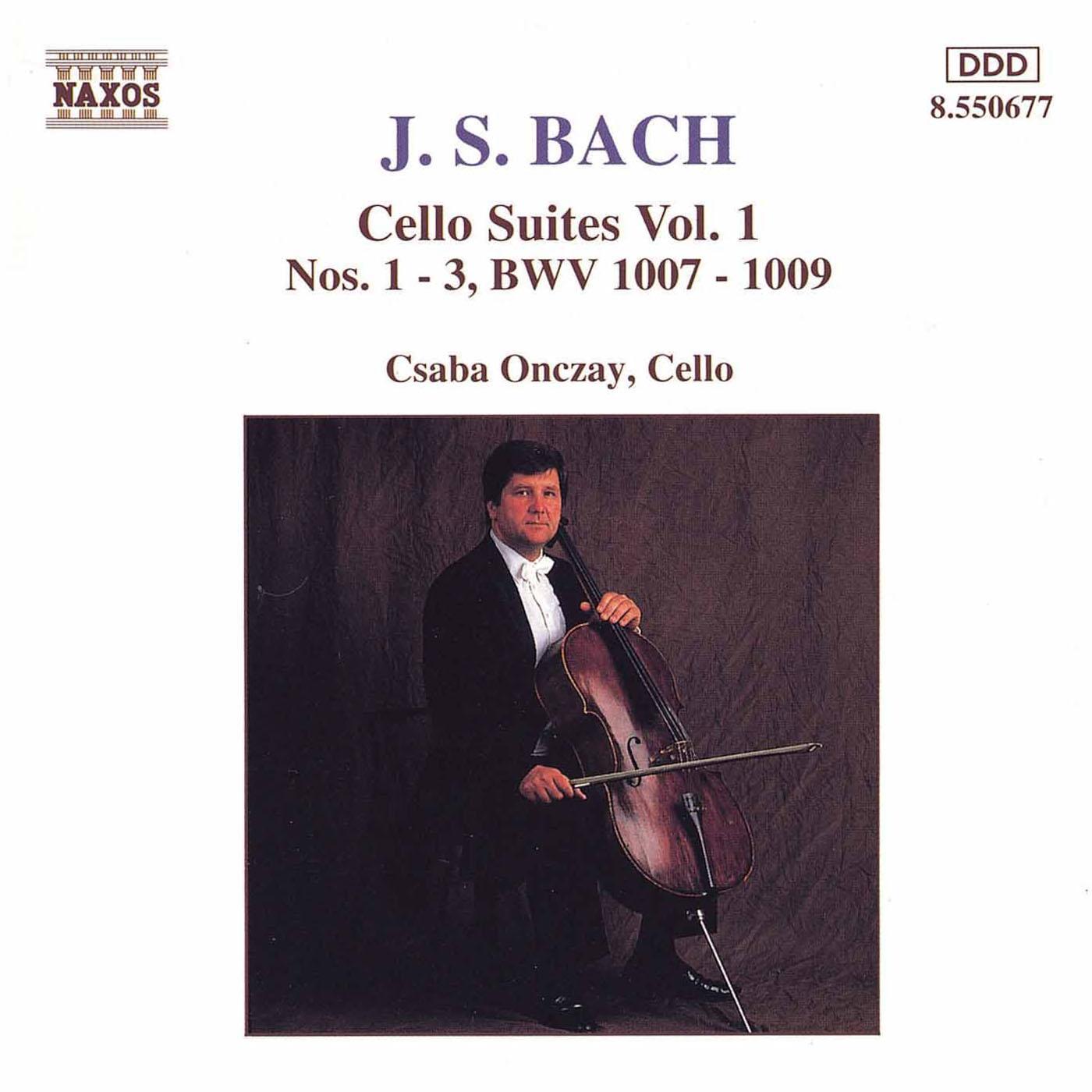 Bach, J.S.: Cello Suites Nos. 1-3, Bwv 1007-1009