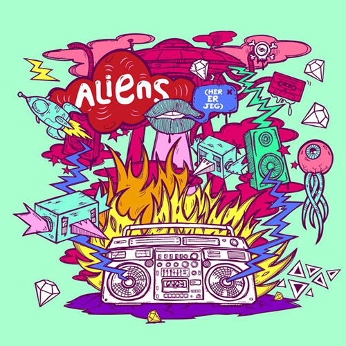 """INA WROLDSEN GOES SOLO WITH """"ALIENS (HER ER JEG)"""""""