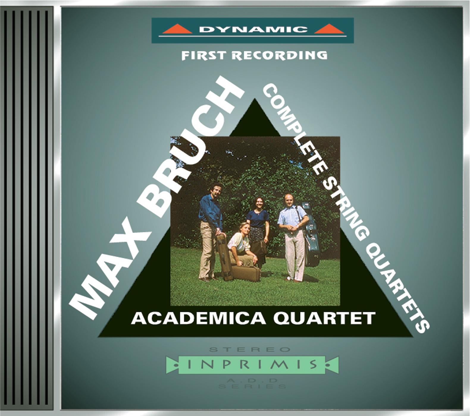 Bruch: String Quartets Nos. 1 and 2