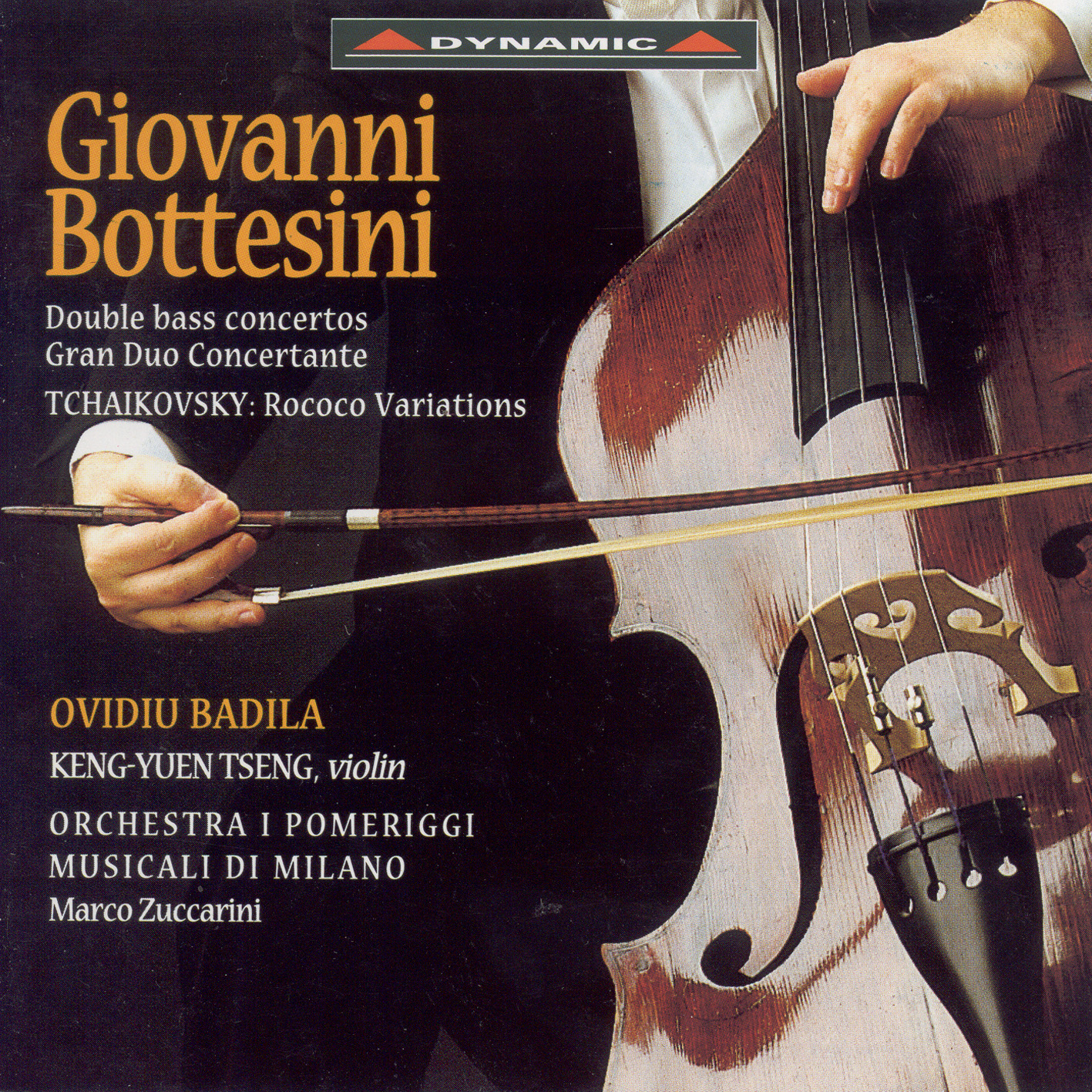 Bottesini, G.: Double Bass Concertos Nos. 1 and 2 - Tchaikovsky, P.I.: Rococo Variations