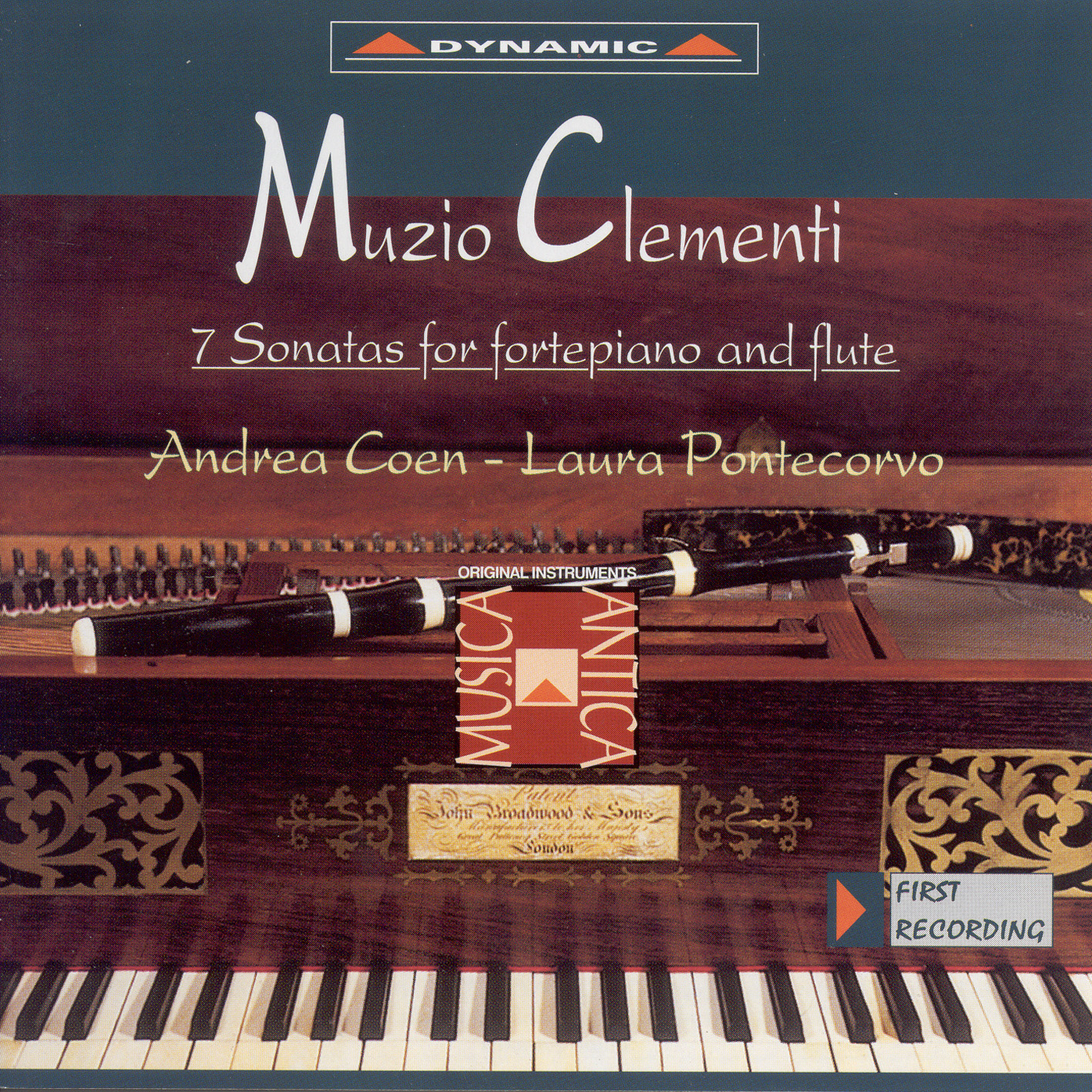 Clementi, M.: Keyboard Sonatas With Accompanying Flute