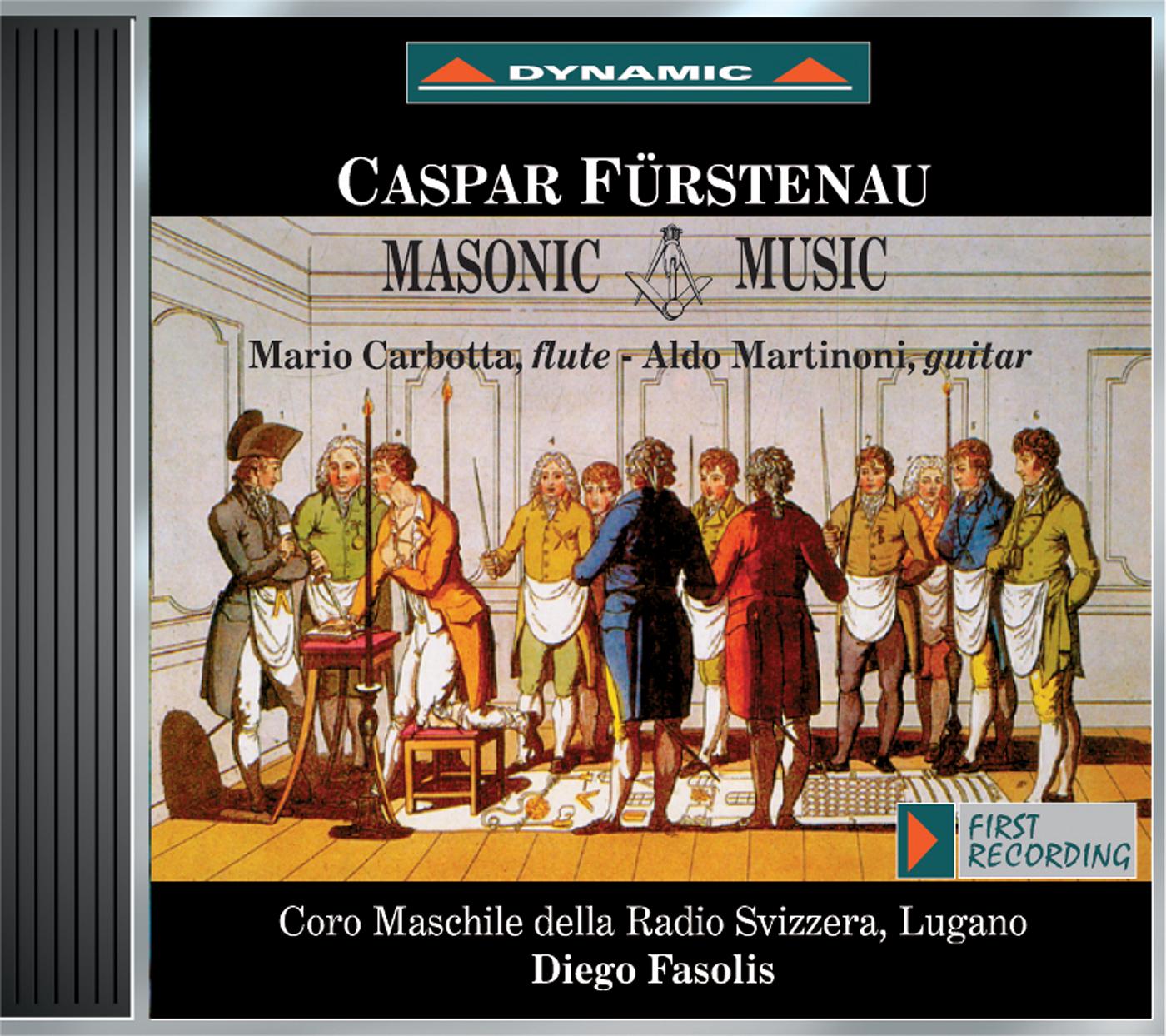 Furstenau: 6 Masonic Songs - 12 Pieces