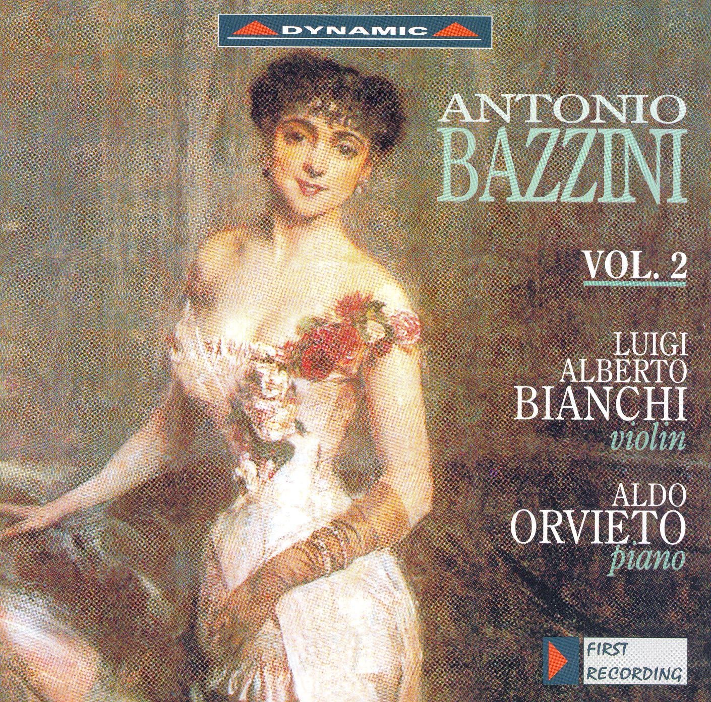 Bazzini: Works for Violin and Piano, Vol. 2