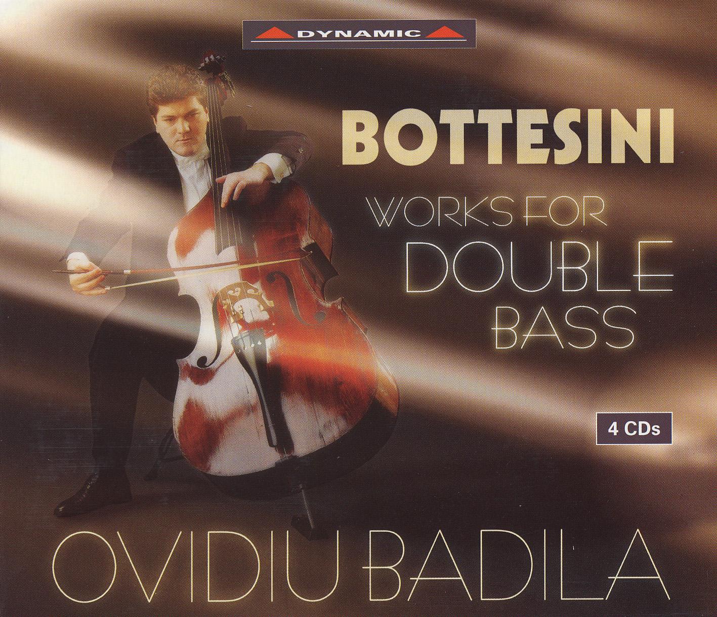 Bottesini: Double Bass Music (Badila) (4Cd Set)