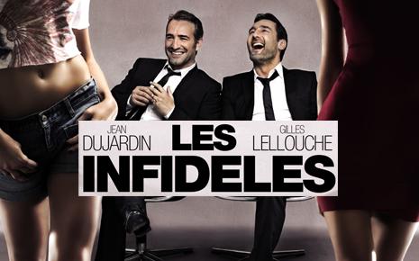 Les infidèles de Jean Dujardin, Gilles Lellouche, Emmanuelle Bercot, Fred Cavayé, Michel H