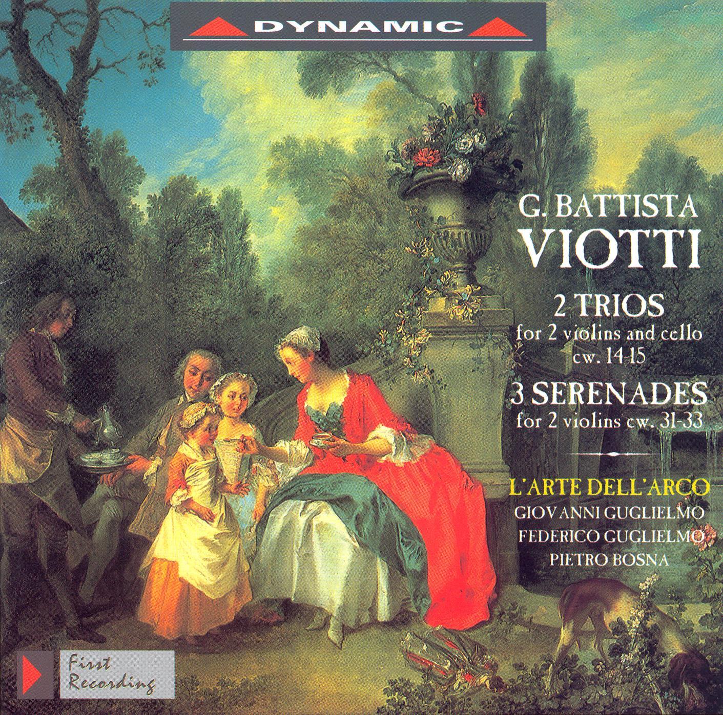 Viotti: Trio Nos. 14 and 15 - Serenades in A Major - D Major - G Major