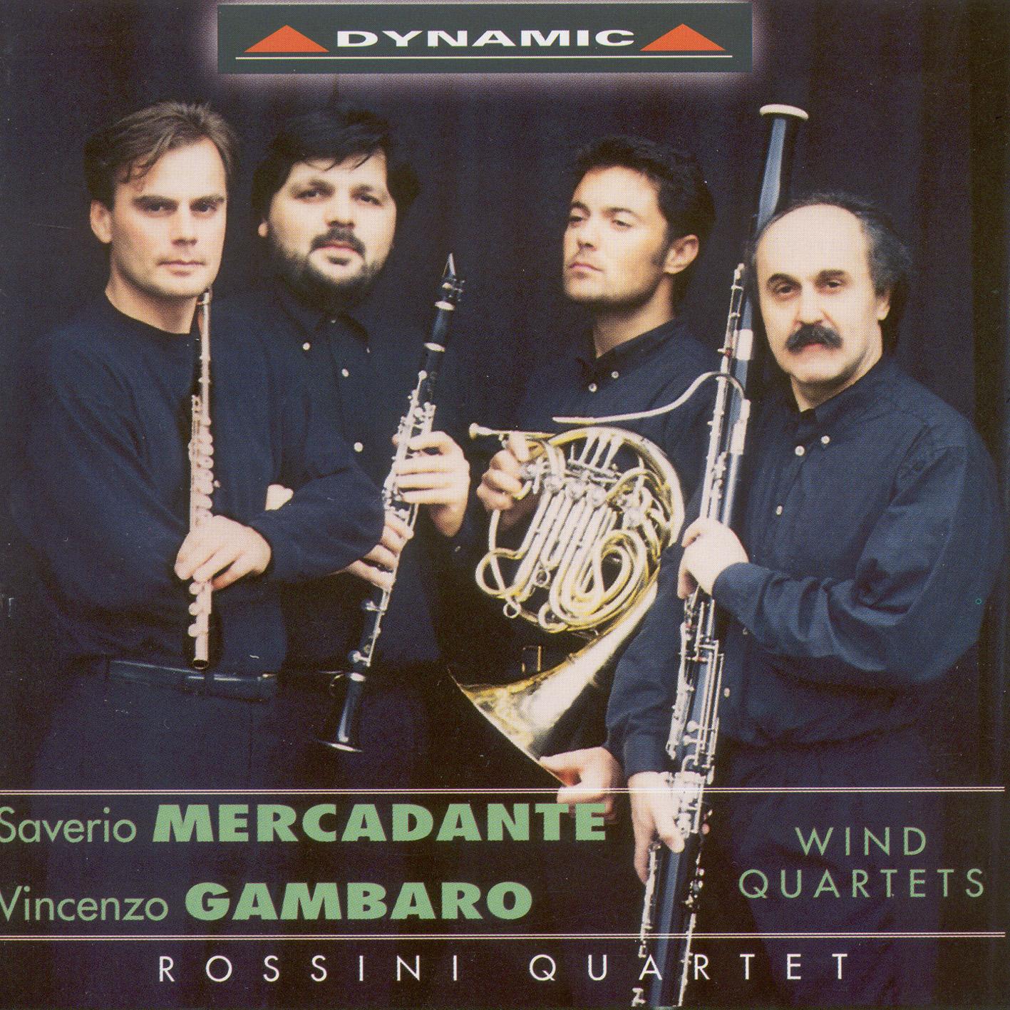 Gambaro - Mercadante: Wind Quartets