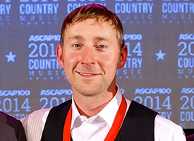 Ashley Gorley Named ASCAP 2014 Songwriter of the Year