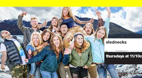 "Silent Lions / ""Terrible Days"" In Upcoming Episode Of MTV's Slednecks"