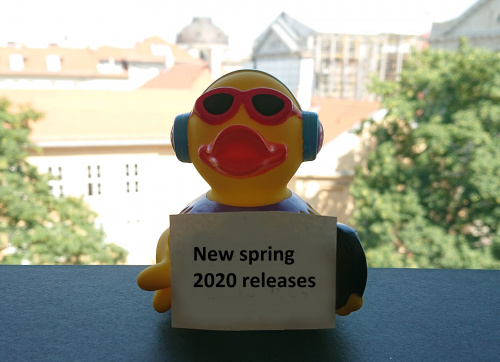 New Spring 2020 Releases