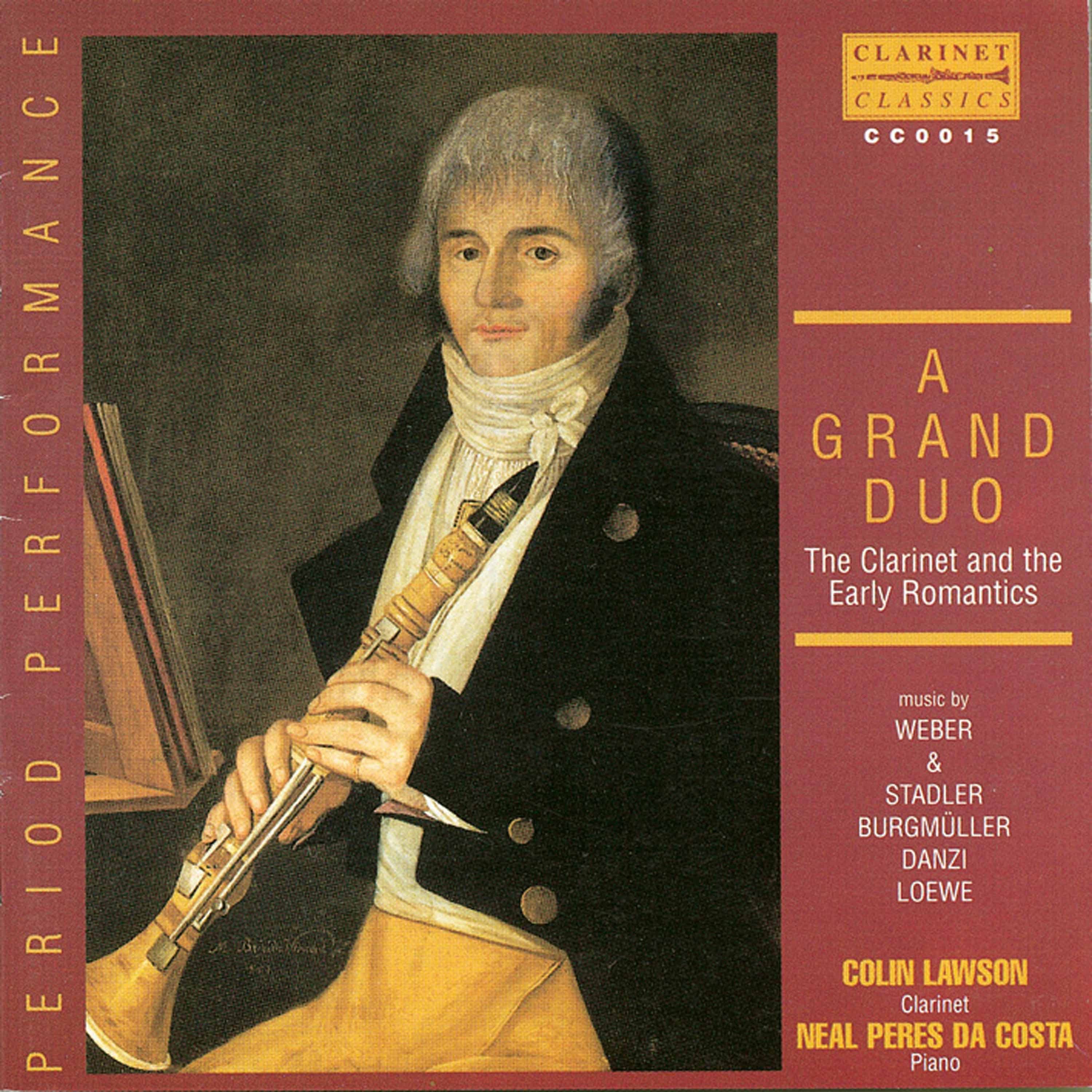 A Grand Duo: The Clarinet and the Early Romantics