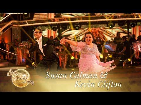 Strictly Come Dancing: Susan Calman & Kevin Clifton Quickstep