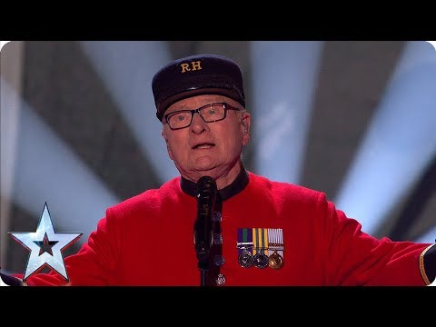 Britain's Got Talent 2019: Colin Thackery And The Chelsea Pensioners