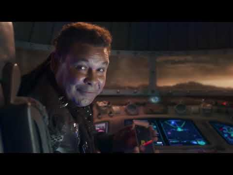 Stellar Rescue - AA advert with the Red Dwarf Crew