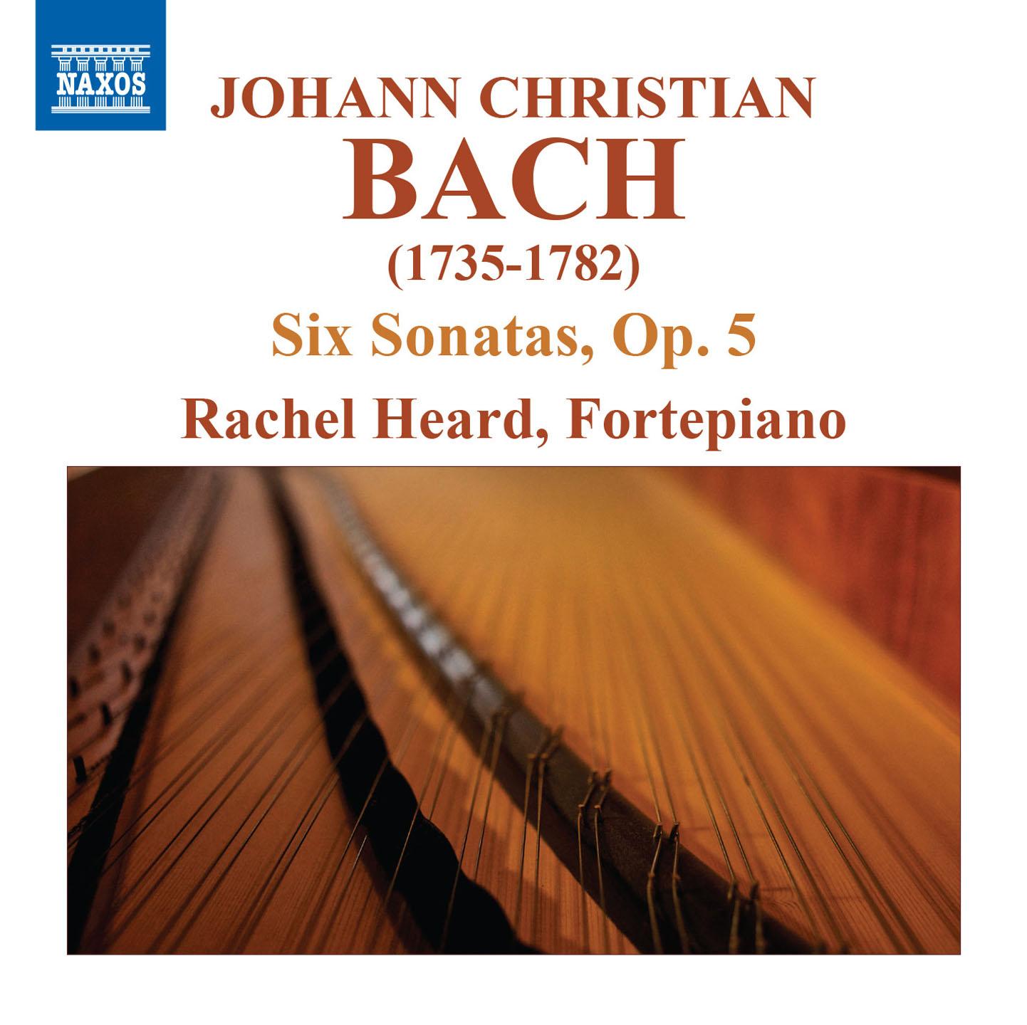 J.C. Bach: 6 Keyboard Sonatas, Op. 5