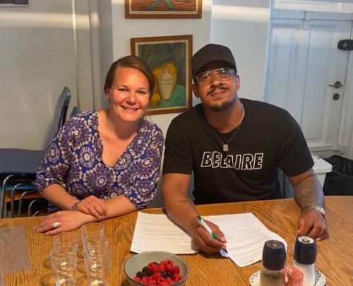 Brandon Beal signs publishing deal