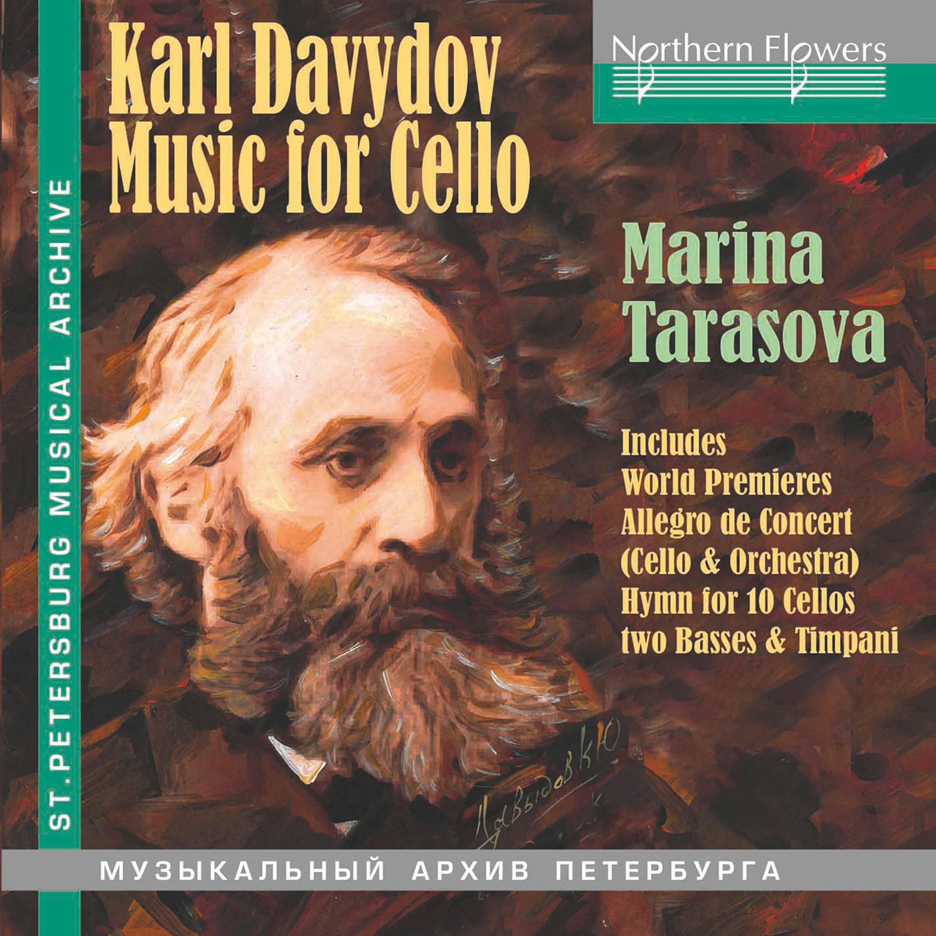 Davydov: Works for Cello