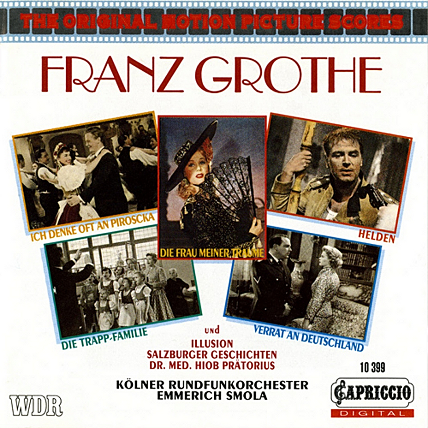 The Original Motion Pictures Scores: Franz Grothe