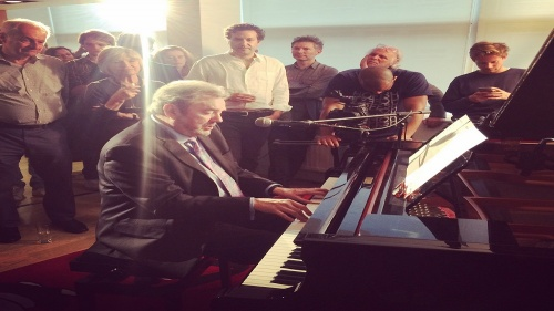 Jimmy Webb performs at Music Sales
