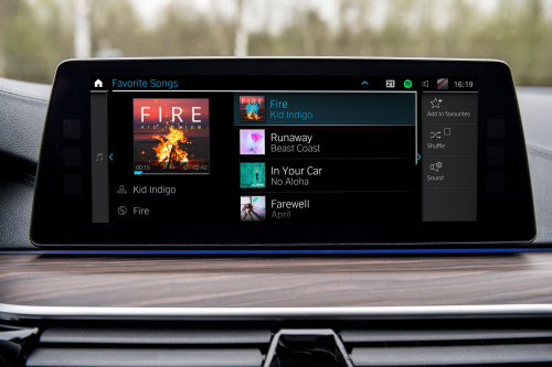 BMW: Connected Music