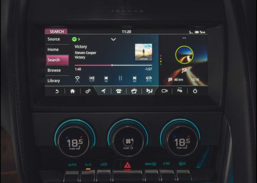 Placement: Jaguar Spotify Integration