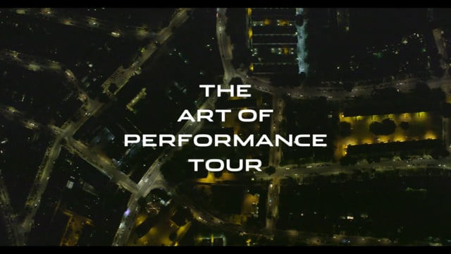 Jaguar XE Art Of Perfomance Tour