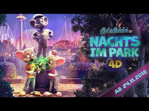Nachts im Park - 4D-Animationsfilm