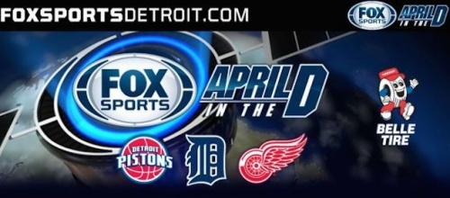 """Champion"" Featured As Theme Song For Fox Sports Detroit's April In The D Campaign"