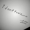 I Don't Feel Human